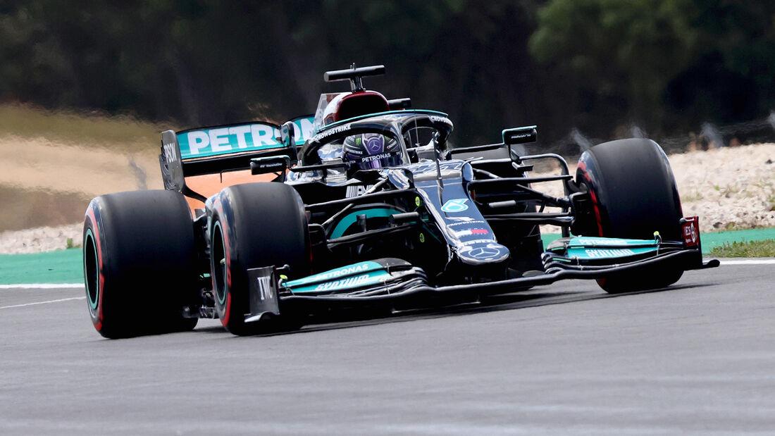 Lewis Hamilton - Formel 1 - GP Portugal - Portimao - 30. April 2021