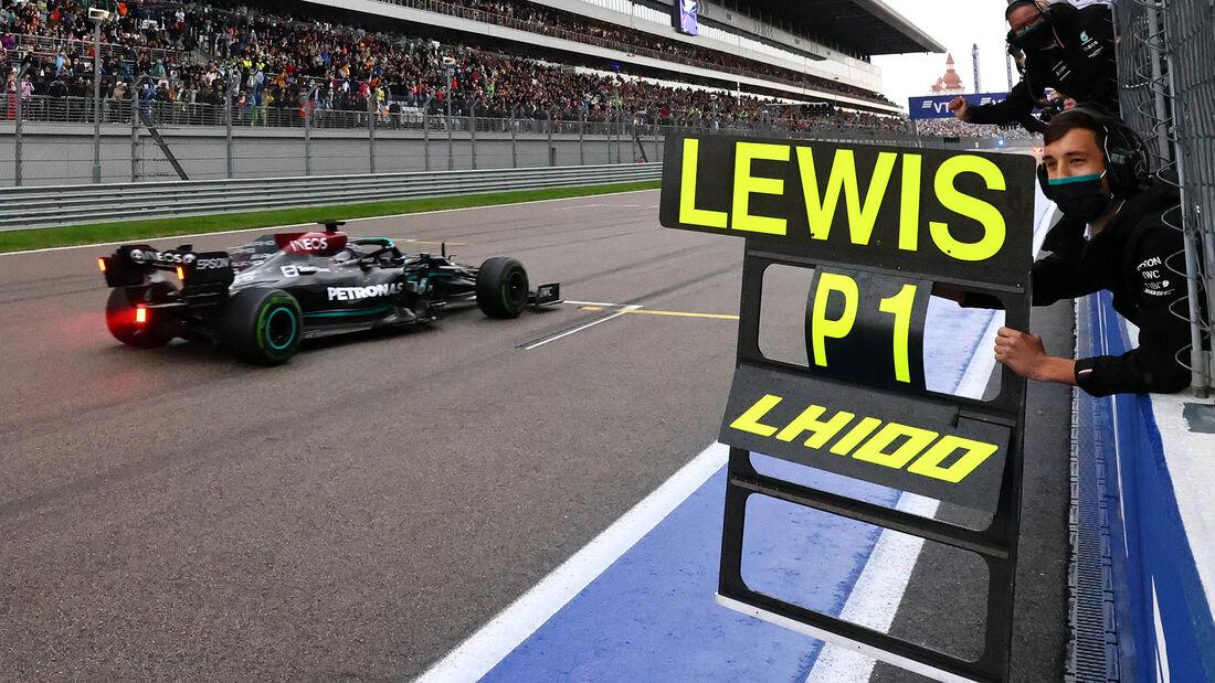 Lewis Hamilton - Formel 1 - GP Russland 2021