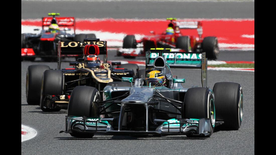 Lewis Hamilton - Formel 1 - GP Spanien 2013