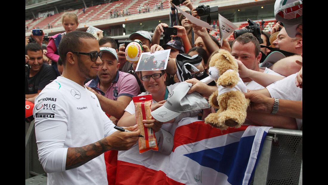 Lewis Hamilton - Formel 1 - GP Spanien - 9. Mai 2013