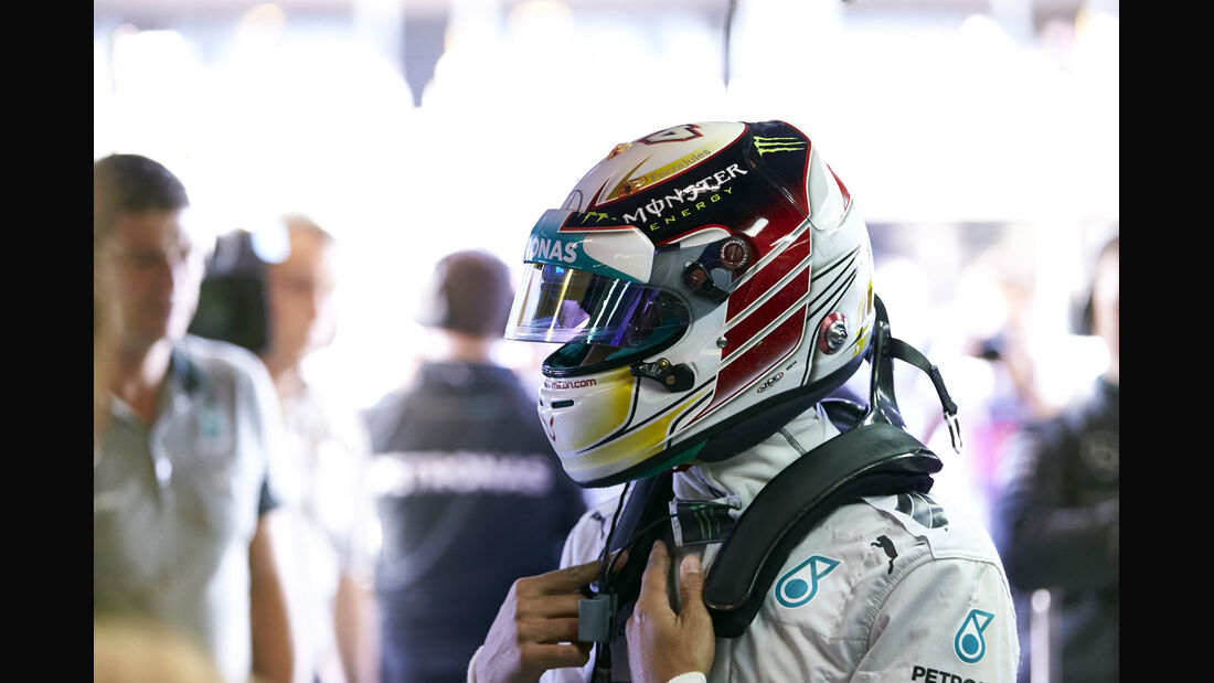 Lewis Hamilton - Formel 1 - GP USA - 1. November 2014