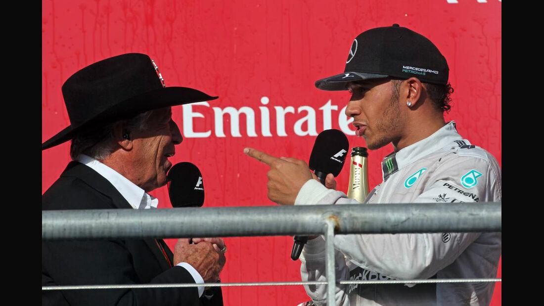 Lewis Hamilton - Formel 1 - GP USA - 2. November 2014