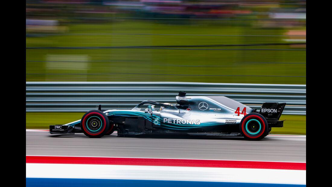 Lewis Hamilton - Formel 1 - GP USA - 2018