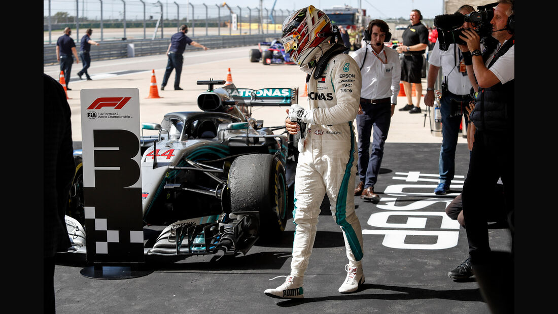 Lewis Hamilton - Formel 1 - GP USA - Austin - 2018