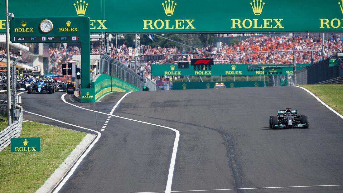 Lewis Hamilton - Formel 1 - GP Ungarn - 2021