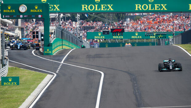 Lewis Hamilton - Formel 1 - GP Ungarn 2021