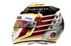 Lewis Hamilton - Formel 1 - Helm - 2016