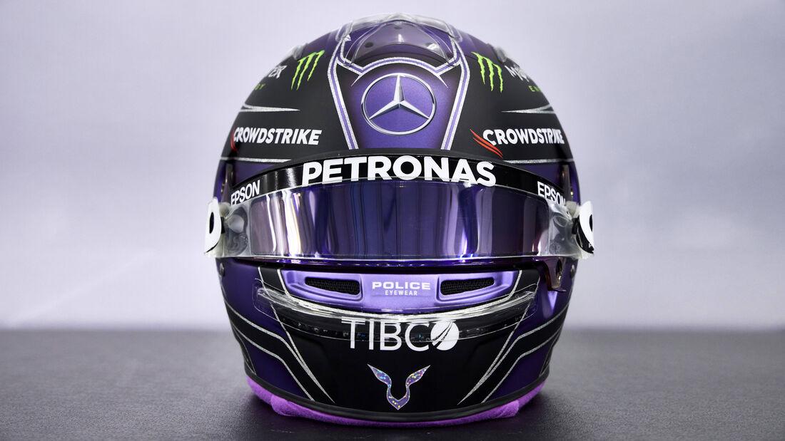 Lewis Hamilton - Formel 1 - Helm - 2021