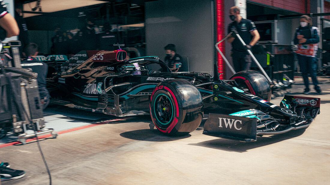 Lewis Hamilton - Formel 1  - Imola - GP Emilia Romagna 2021
