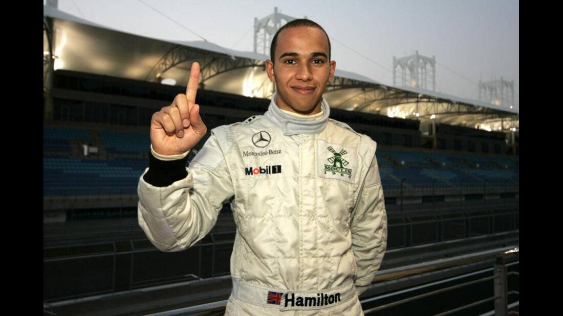 Lewis Hamilton Formel 3 2004