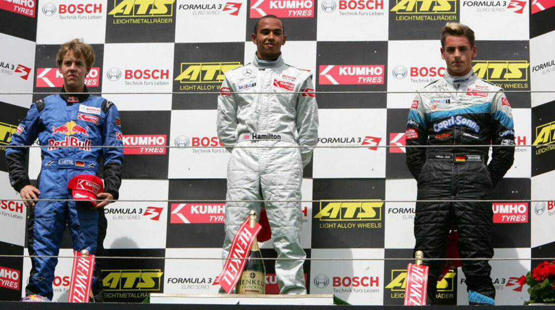 Lewis Hamilton Formel 3 2005