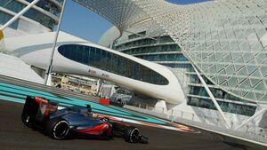 Lewis Hamilton GP Abu Dhabi 2012
