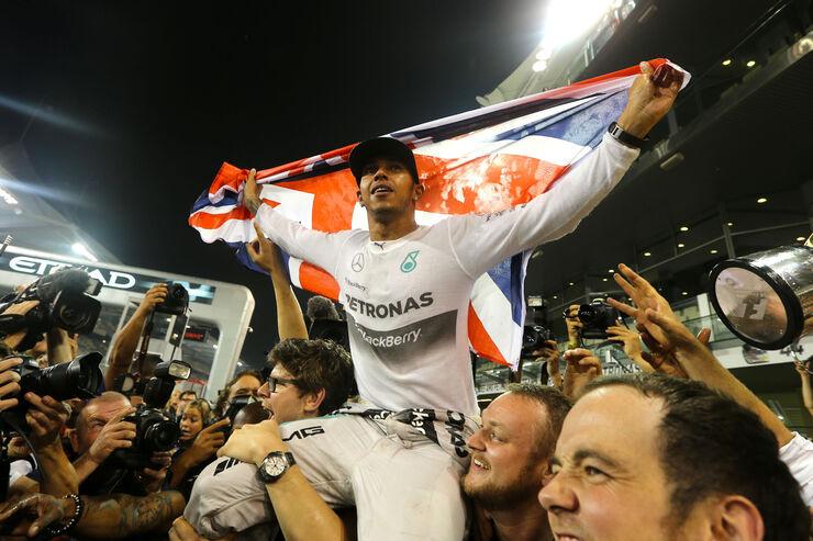 Lewis Hamilton - GP Abu Dhabi 2014