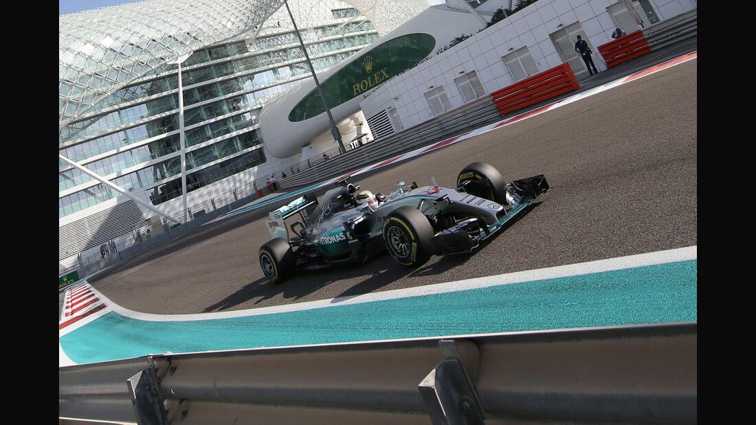 Lewis Hamilton - GP Abu Dhabi 2015