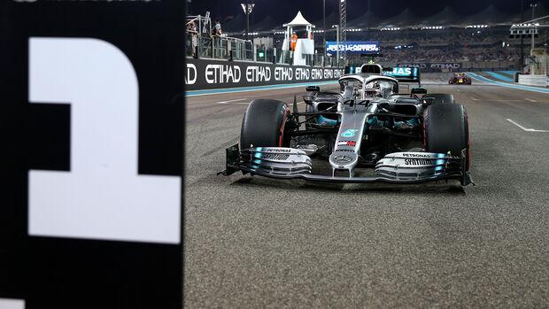 Lewis Hamilton - GP Abu Dhabi 2019