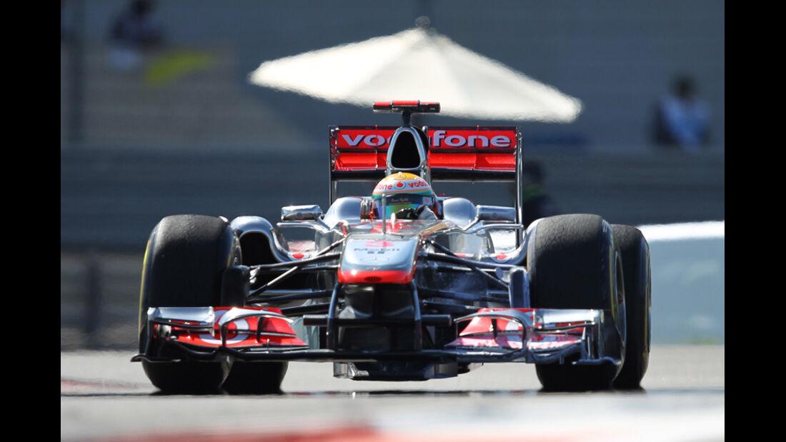 Lewis Hamilton - GP Abu Dhabi - Freies Training - 11. November 2011