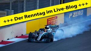 Lewis Hamilton - GP Aserbaidschan 2017 - Live-Blog