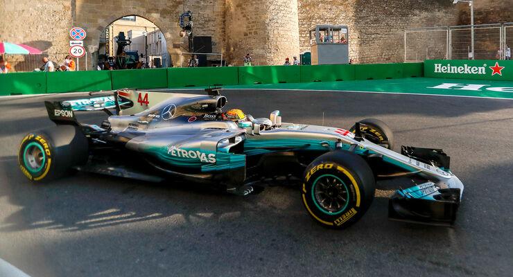 Lewis Hamilton - GP Aserbaidschan 2017