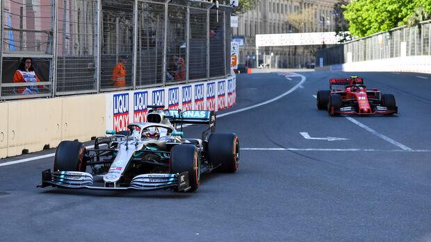 Lewis Hamilton - GP Aserbaidschan 2019