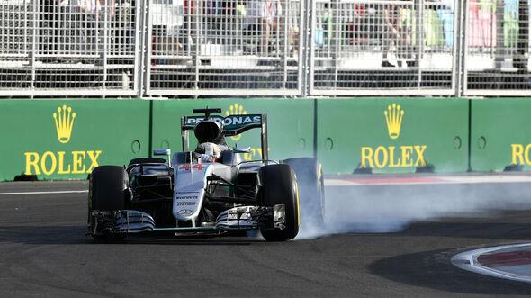 Lewis Hamilton - GP Aserbaidschan - Formel 1 - 2016