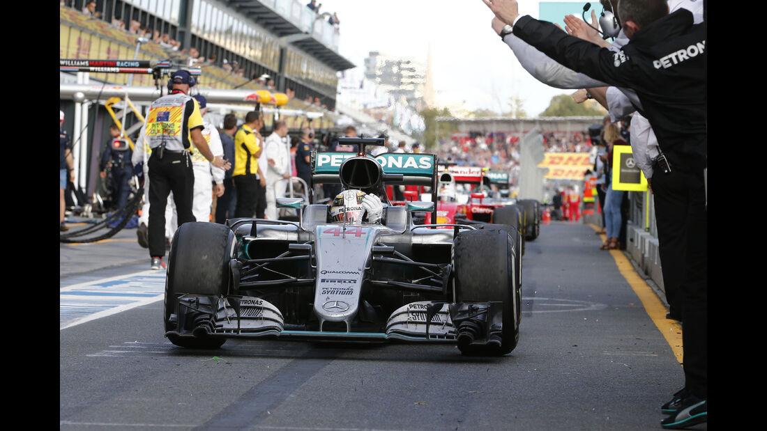 Lewis Hamilton - GP Australien 2016