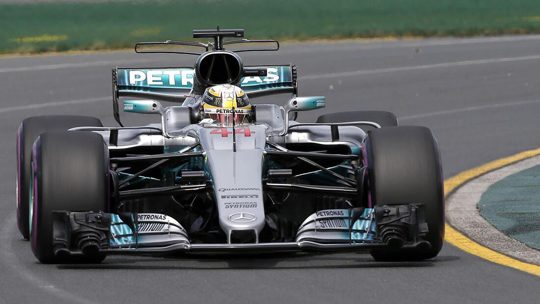 Lewis Hamilton - GP Australien - 2017