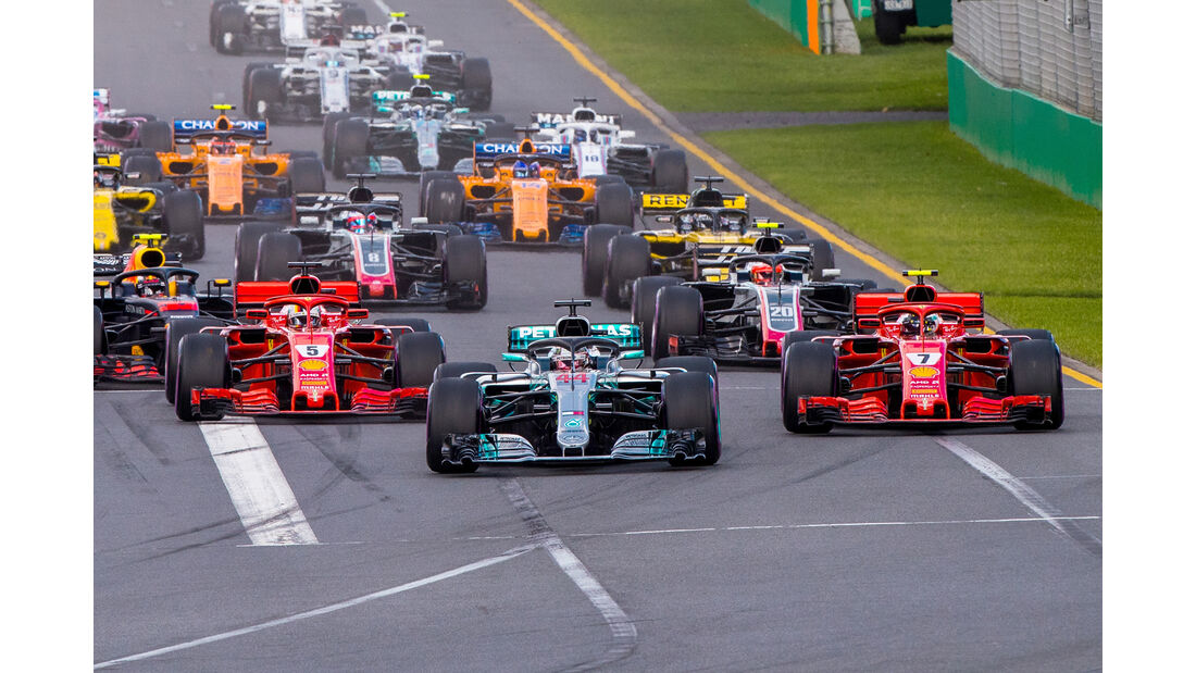 Lewis Hamilton - GP Australien 2018
