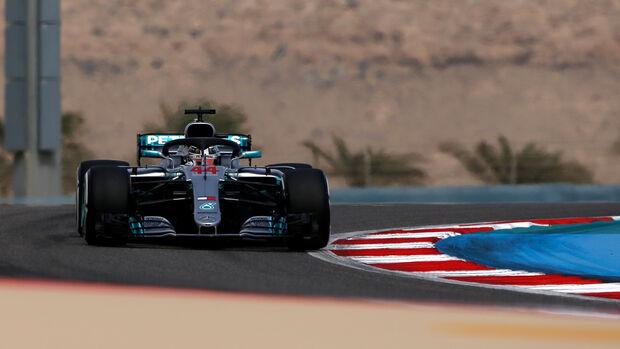 Lewis Hamilton - GP Bahrain 2018