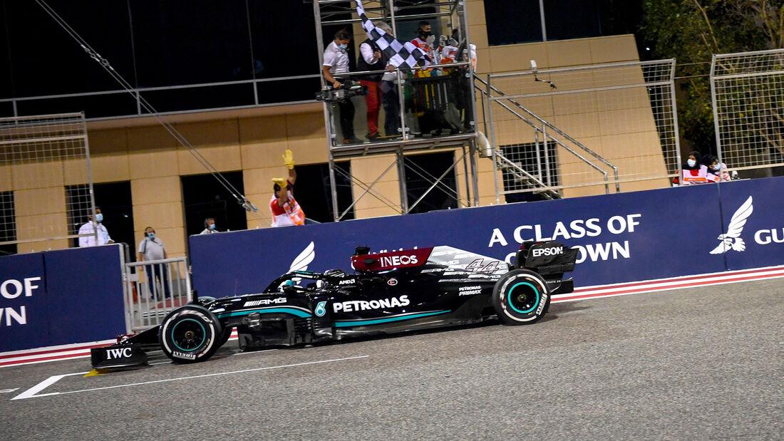 Lewis Hamilton - GP Bahrain - 2021