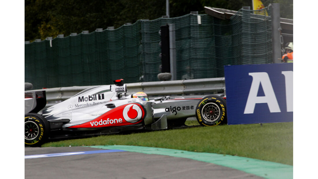 Lewis Hamilton GP Belgien 2011