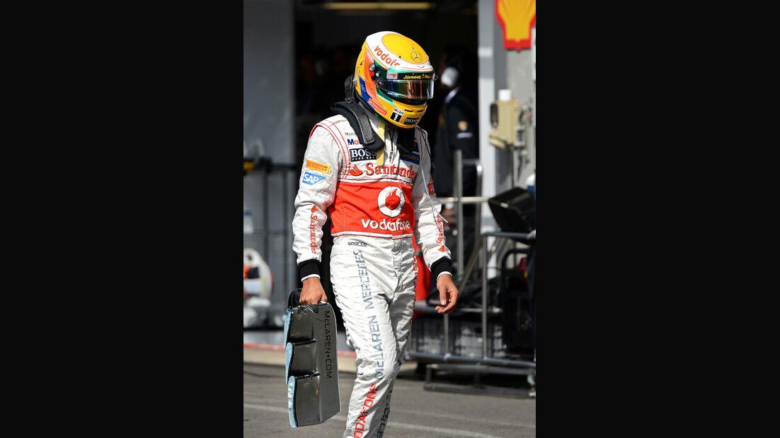 Lewis Hamilton - GP Belgien 2012