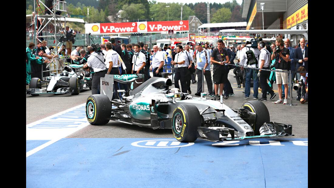 Lewis Hamilton - GP Belgien 2015