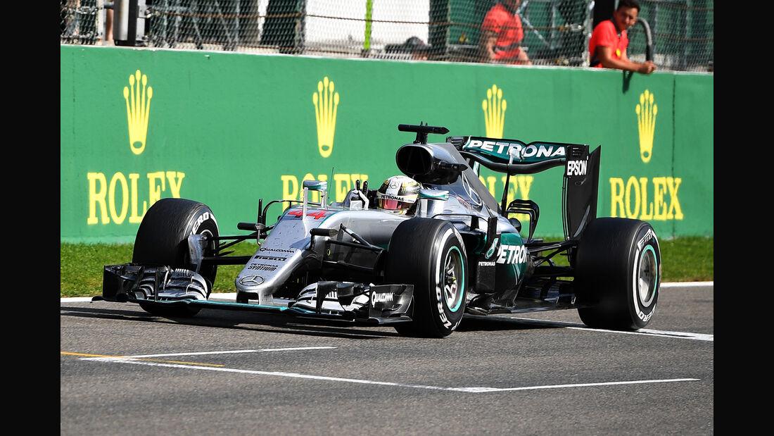 Lewis Hamilton - GP Belgien 2016