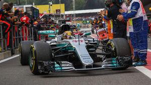 Lewis Hamilton - GP Belgien 2017