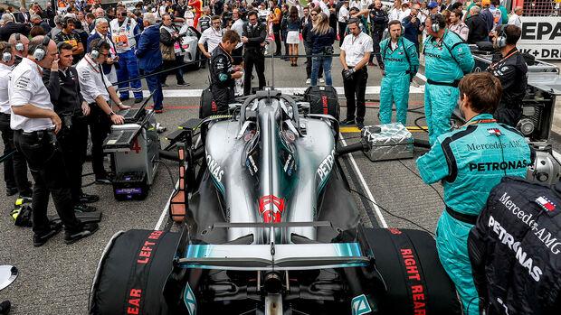 Lewis Hamilton - GP Belgien 2018