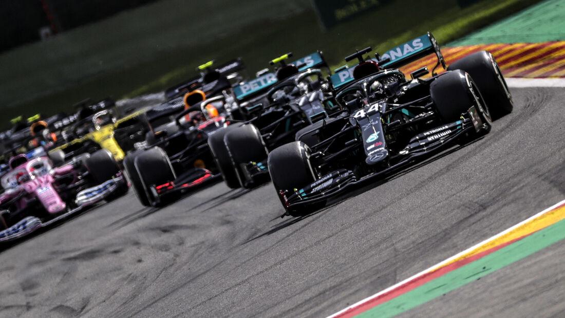 Lewis Hamilton - GP Belgien 2020