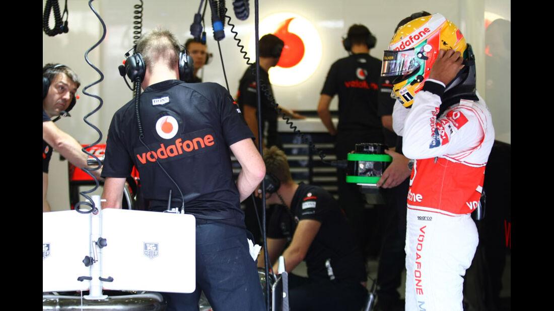 Lewis Hamilton - GP Belgien - 26. August 2011
