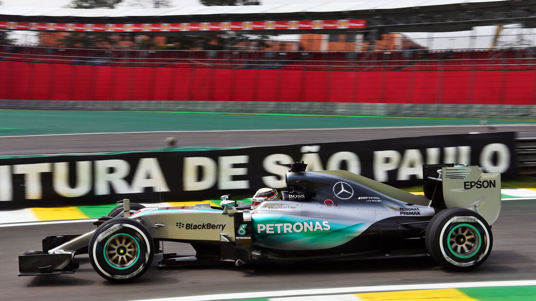 Lewis Hamilton - GP Brasilien - 13. November 2015