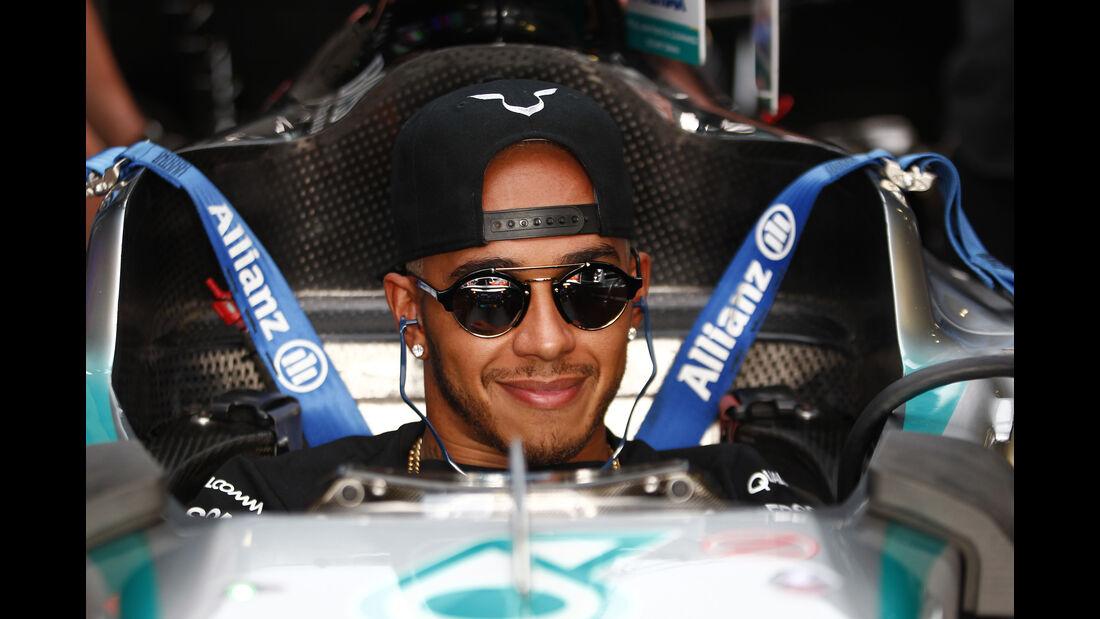 Lewis Hamilton - GP Brasilien 2011