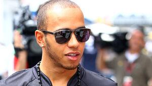 Lewis Hamilton GP Brasilien 2011