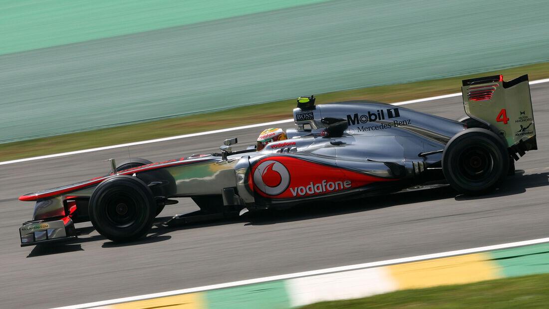 Lewis Hamilton GP Brasilien 2012