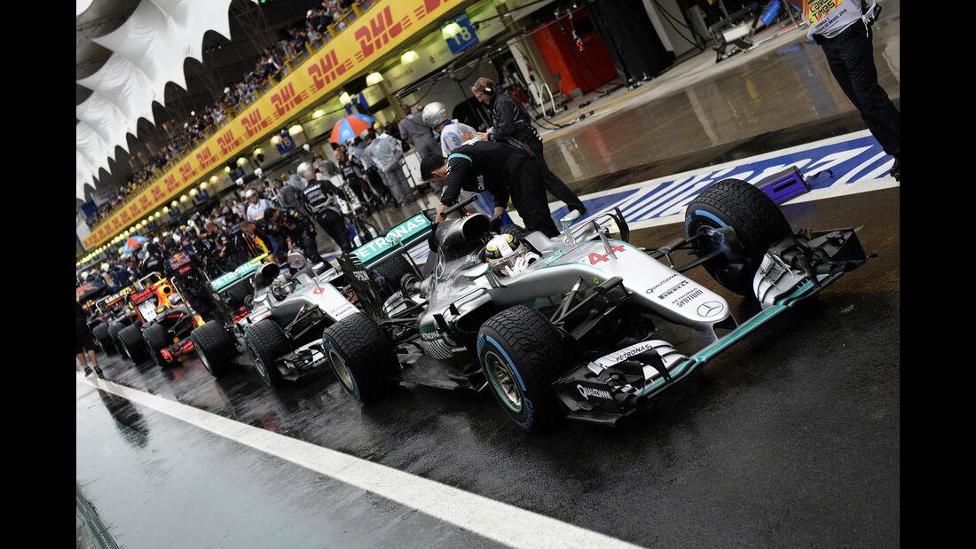 Lewis Hamilton - GP Brasilien 2016