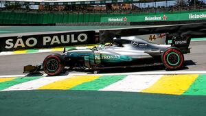 Lewis Hamilton - GP Brasilien 2017