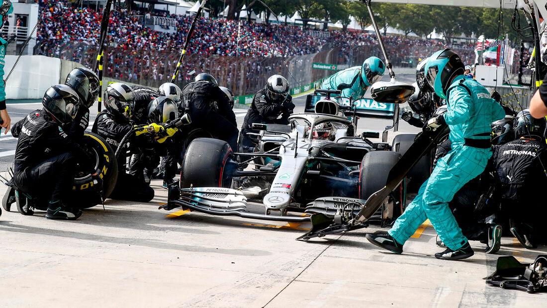 Lewis Hamilton - GP Brasilien 2019