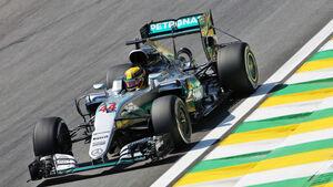 Lewis Hamilton - GP Brasilien - Interlagos - Freitag - 11.11.2016