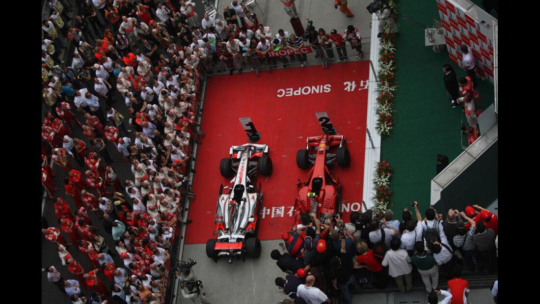 Lewis Hamilton GP China 2008
