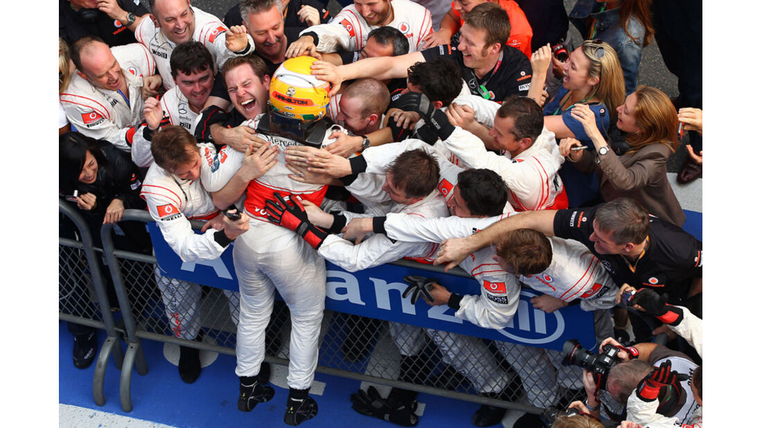 Lewis Hamilton GP China 2011