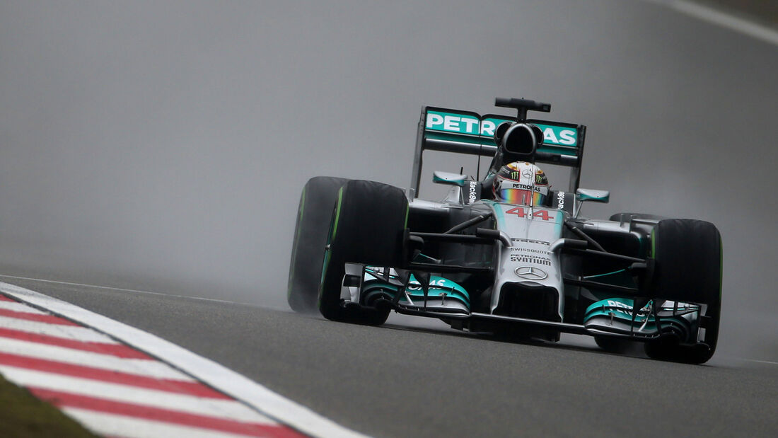 Lewis Hamilton  - GP China 2014