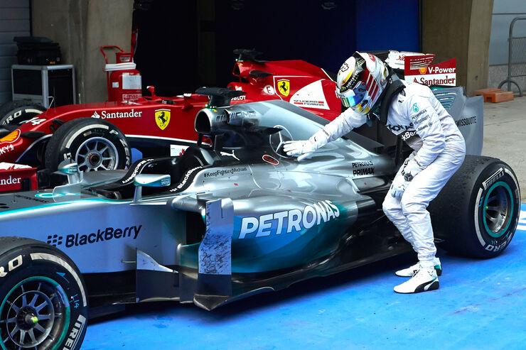 Lewis Hamilton - GP China 2014 - Formel 1 - Tops & Flops