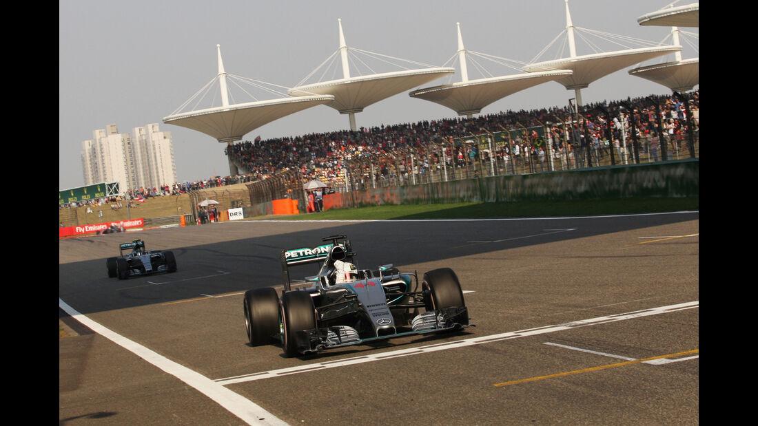 Lewis Hamilton - GP China 2015